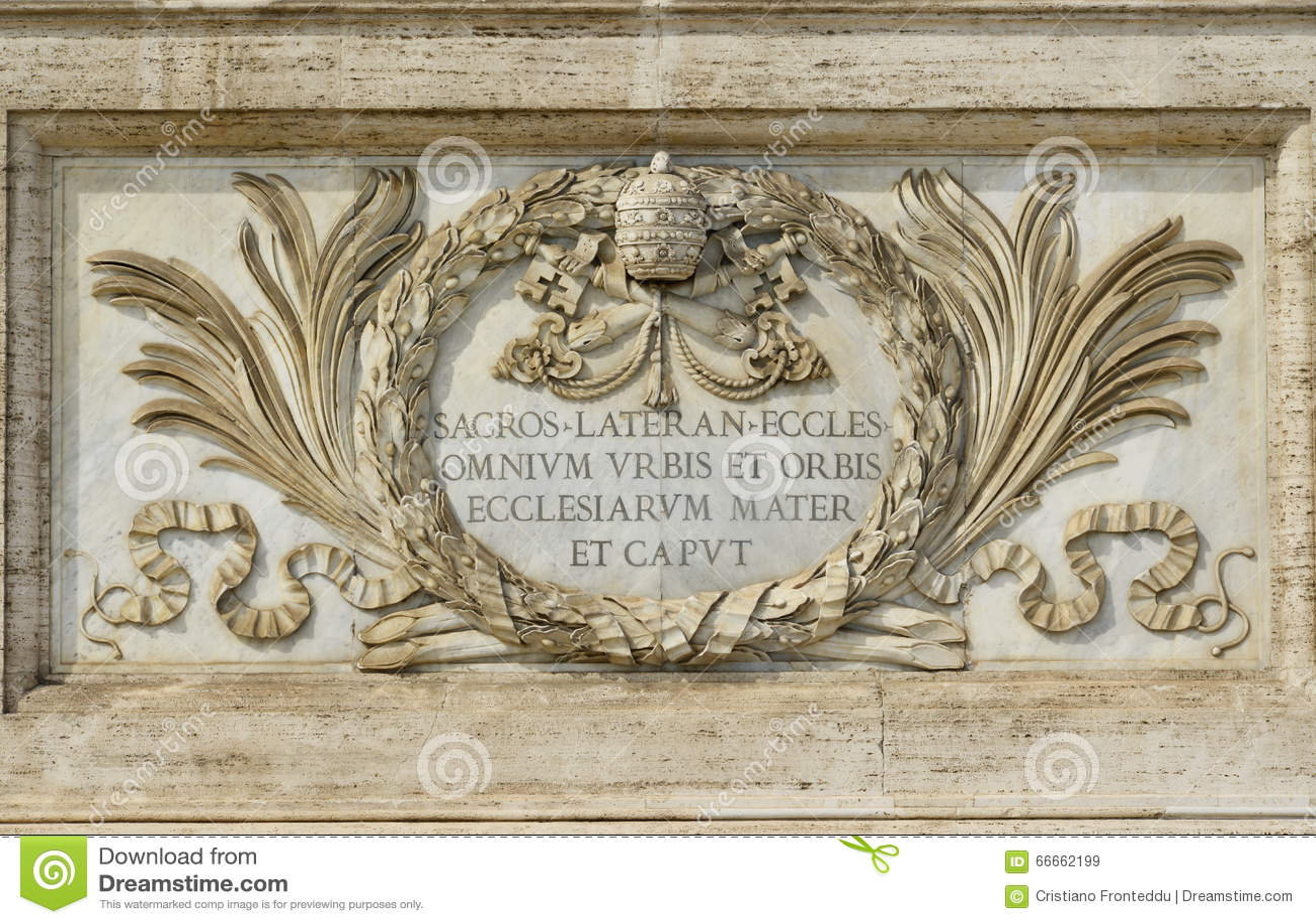 Heilige John in Lateran-Basiliek in Rome, belangrijkste churc