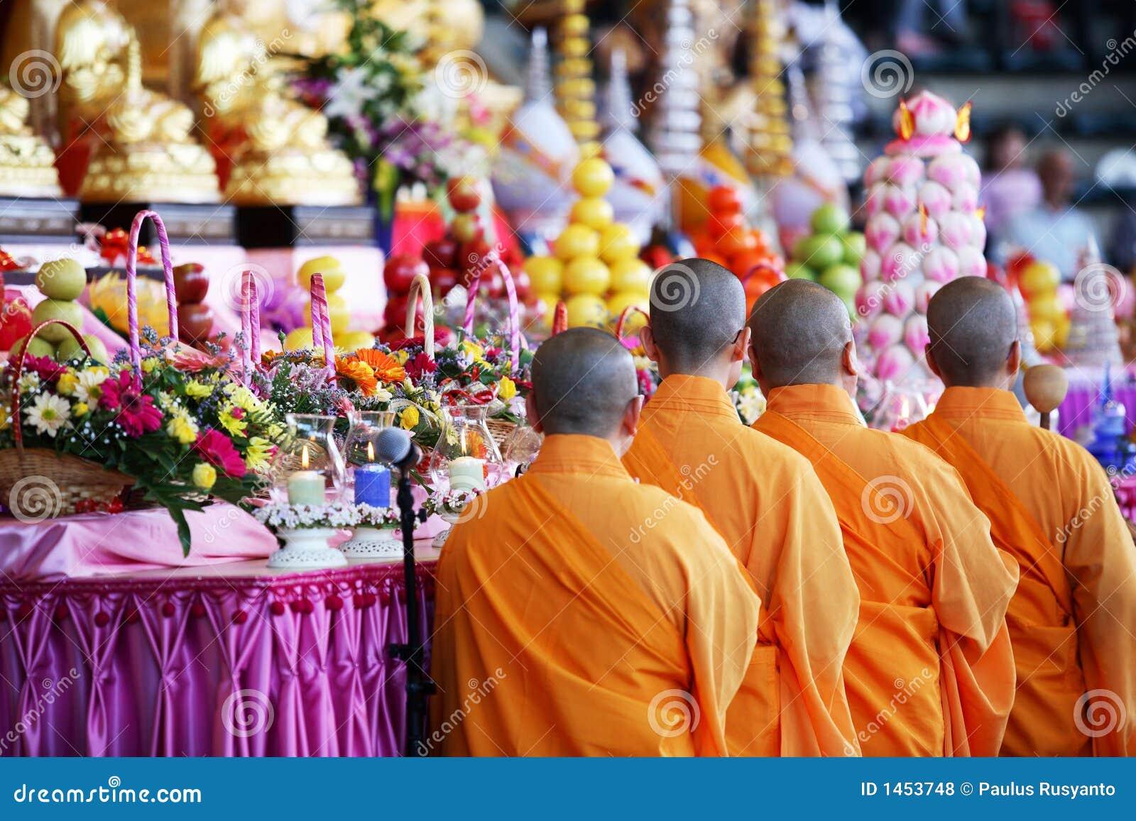 Heilige Mönche