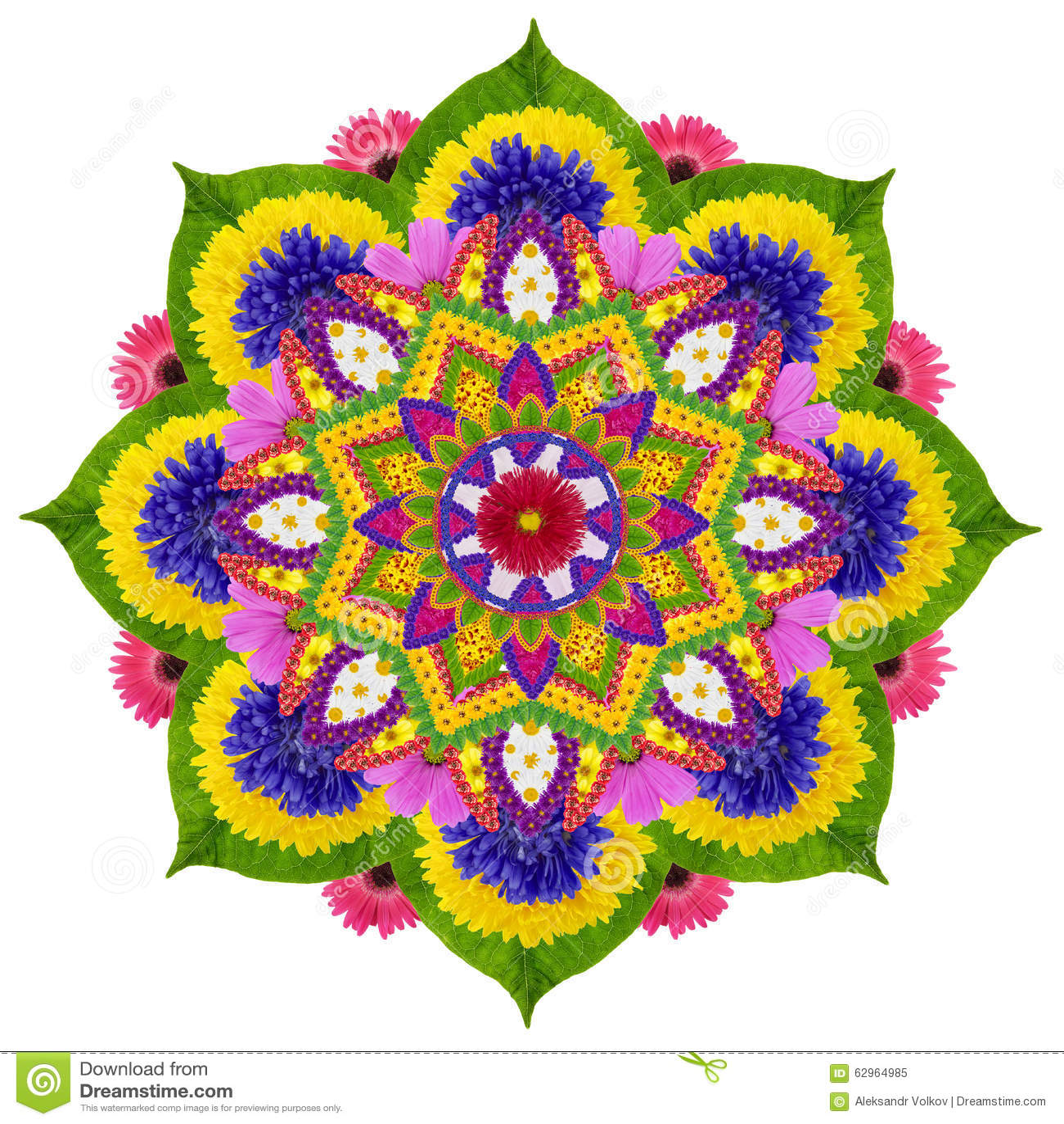 Heilige mandala van Hemellotus