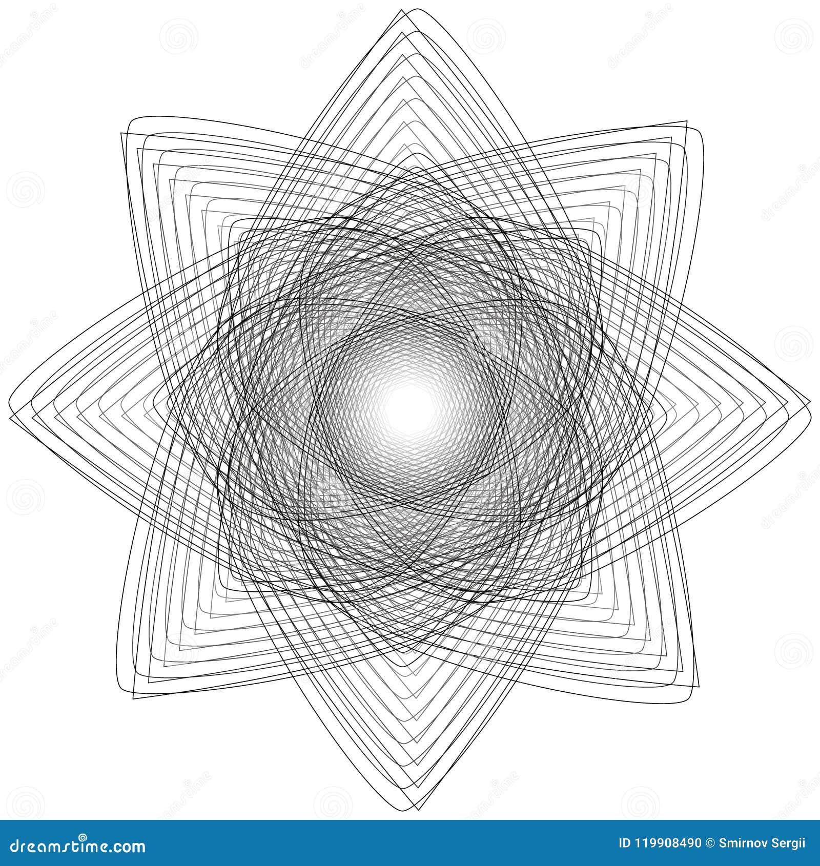 Heilige meetkundetekens Reeks symbolen en elementen Alchimie, godsdienst, filosofie
