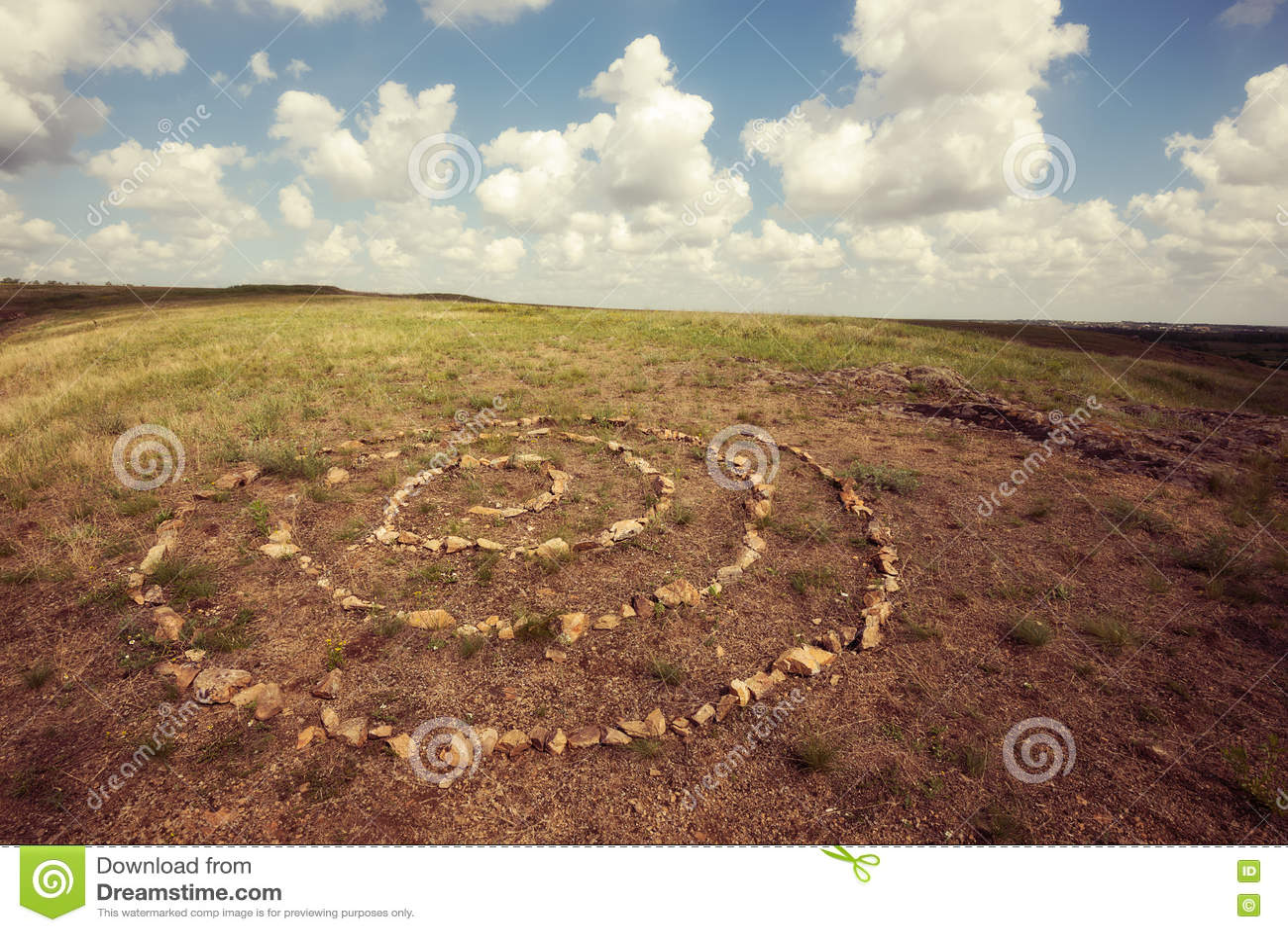 Heilige Spirale, Symbol von Unendlichkeit