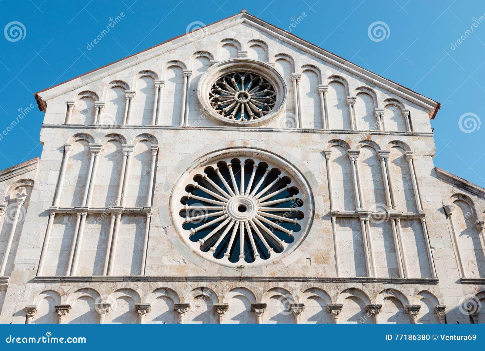 Heiliges Anastasia Cathedral, Zadar, Kroatien