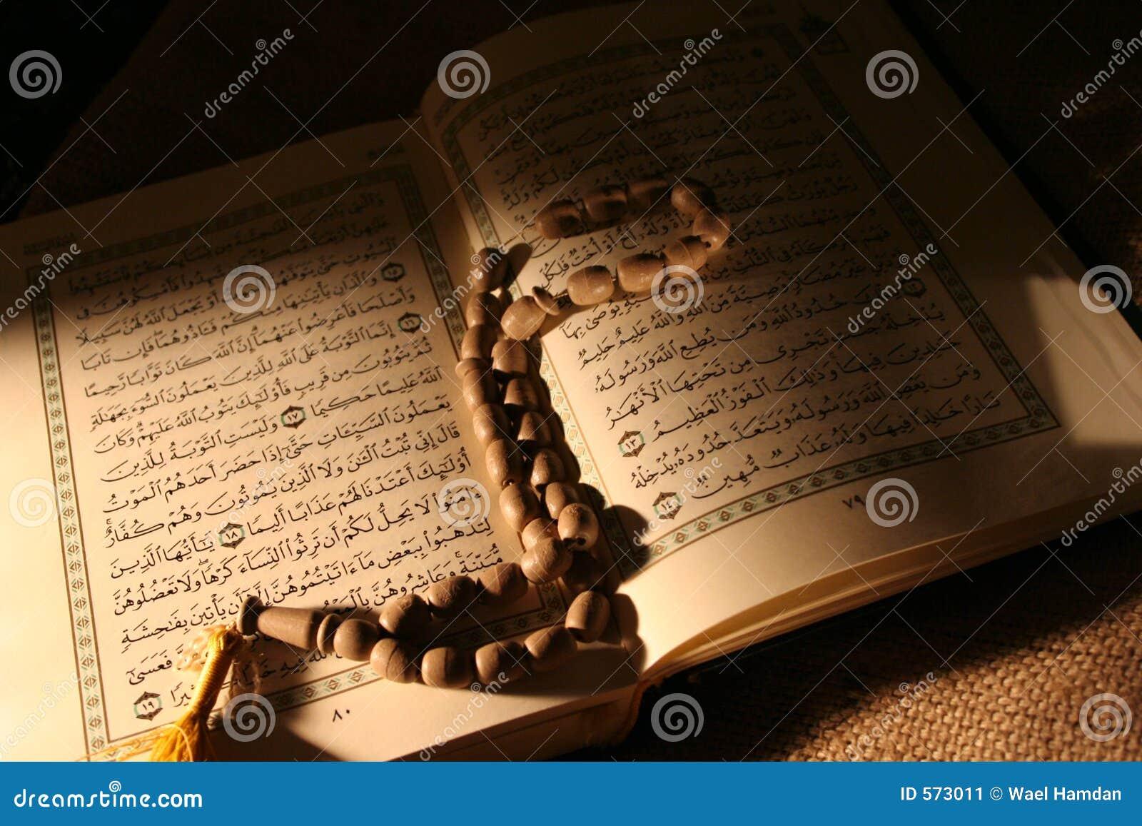 Heiliges koran u. Rosenbeet