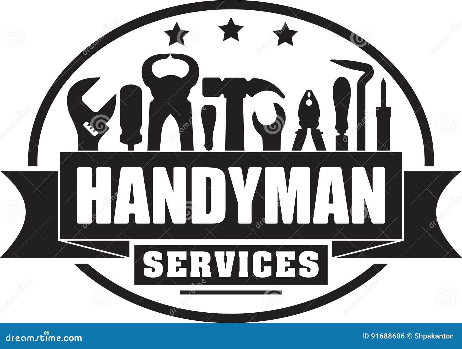Heimwerkerservices fester gubber Stempel für Ihr Logo oder emb