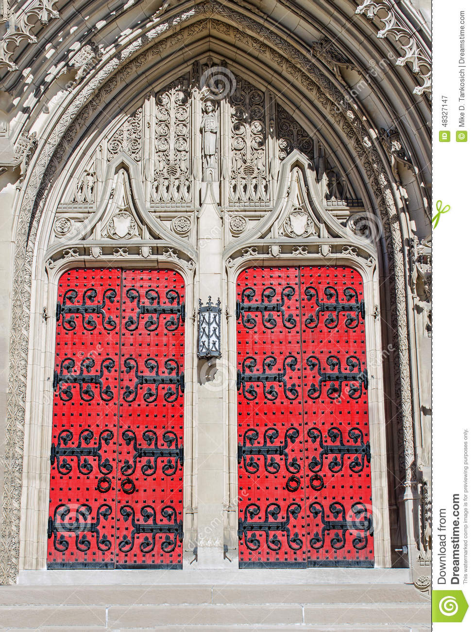 Heinz Chapel Doors Closed