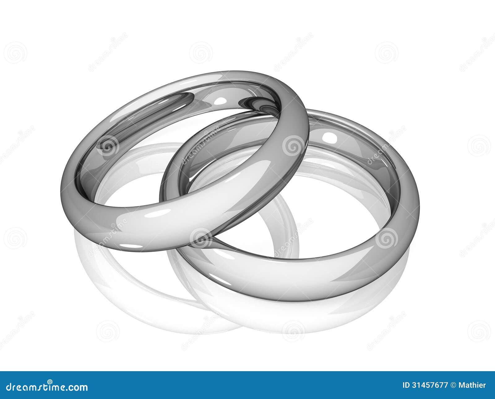 Heirat - Weiße Goldene Ringe Lizenzfreie Stockfotografie - Bild ...