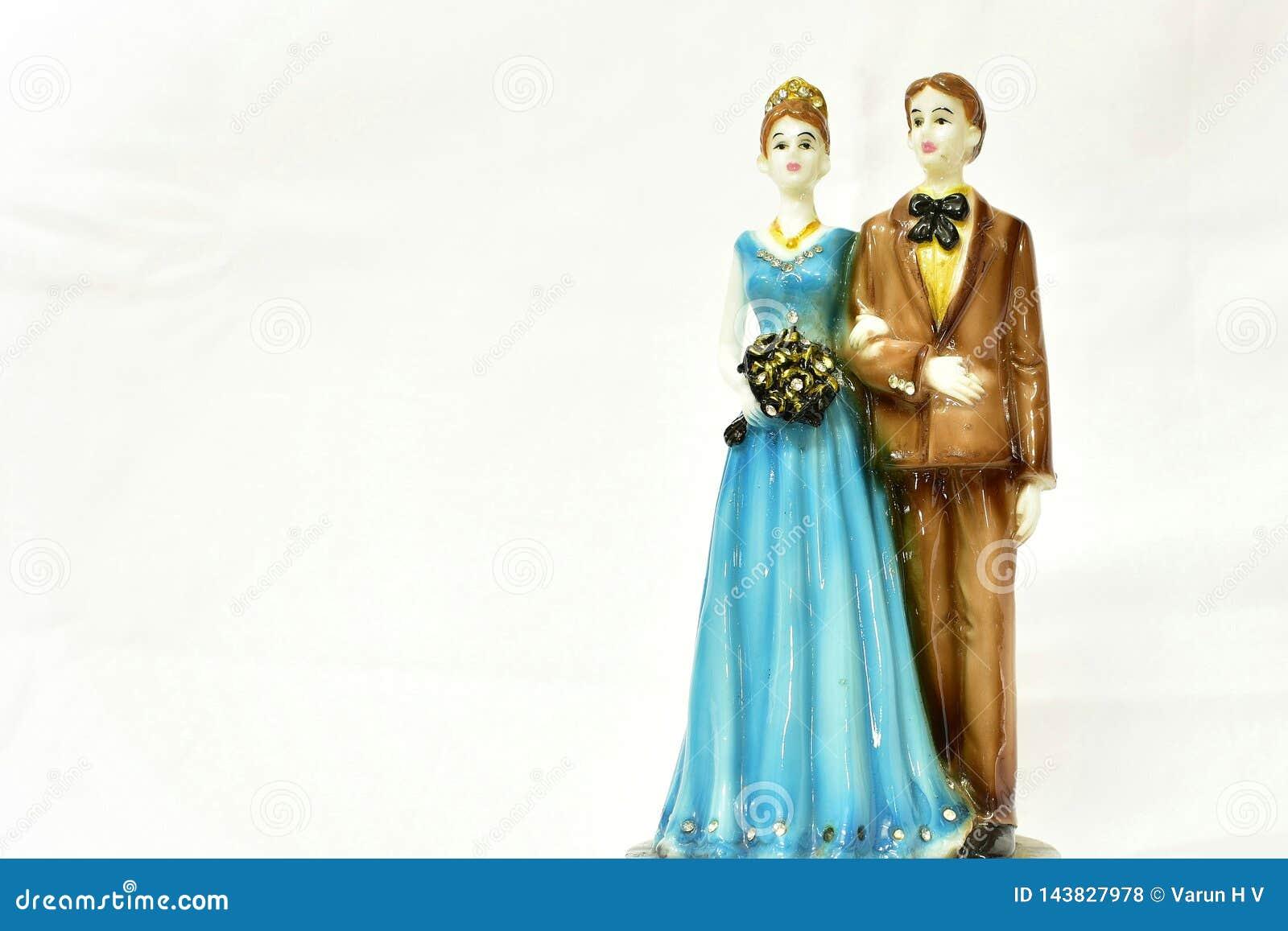 Heiratspaarpuppe