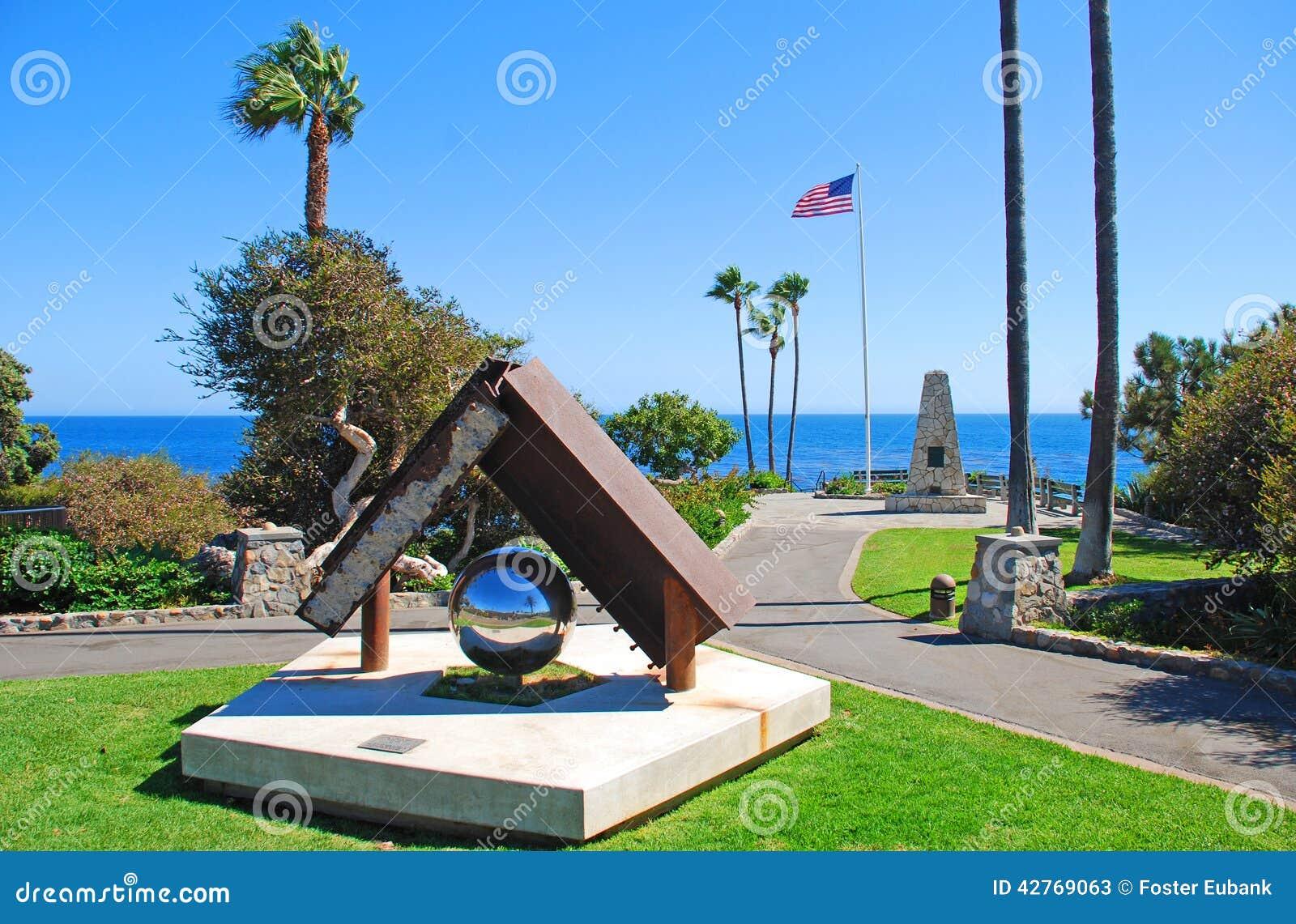 Heisler паркует пункт памятника, пляж Laguna, Califo