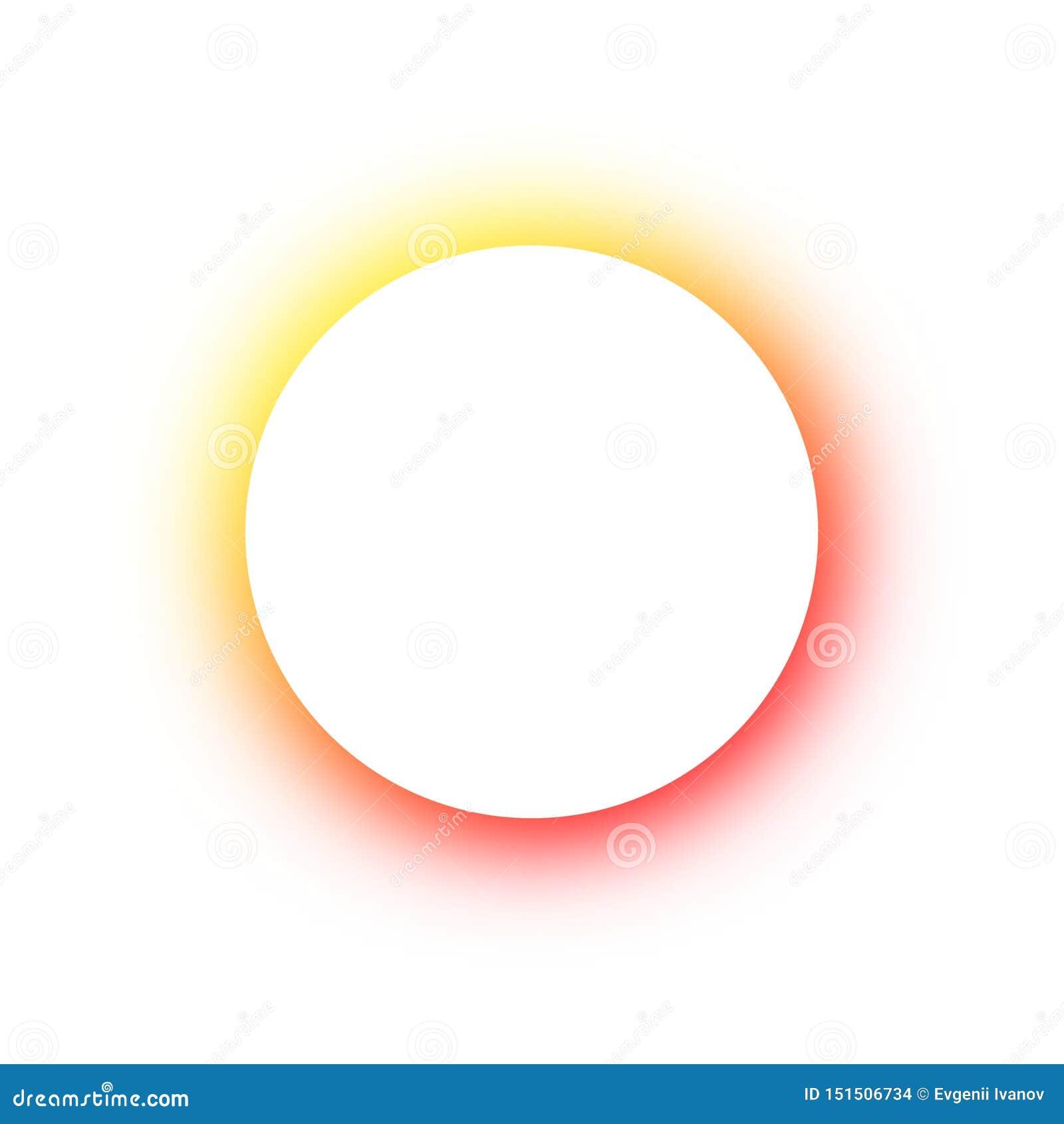 Helder gekleurd patroon om het gloeien verschillende kleuren van de neonknopen, de ruimte voor de tekst Malplaatjeontwerp voor re