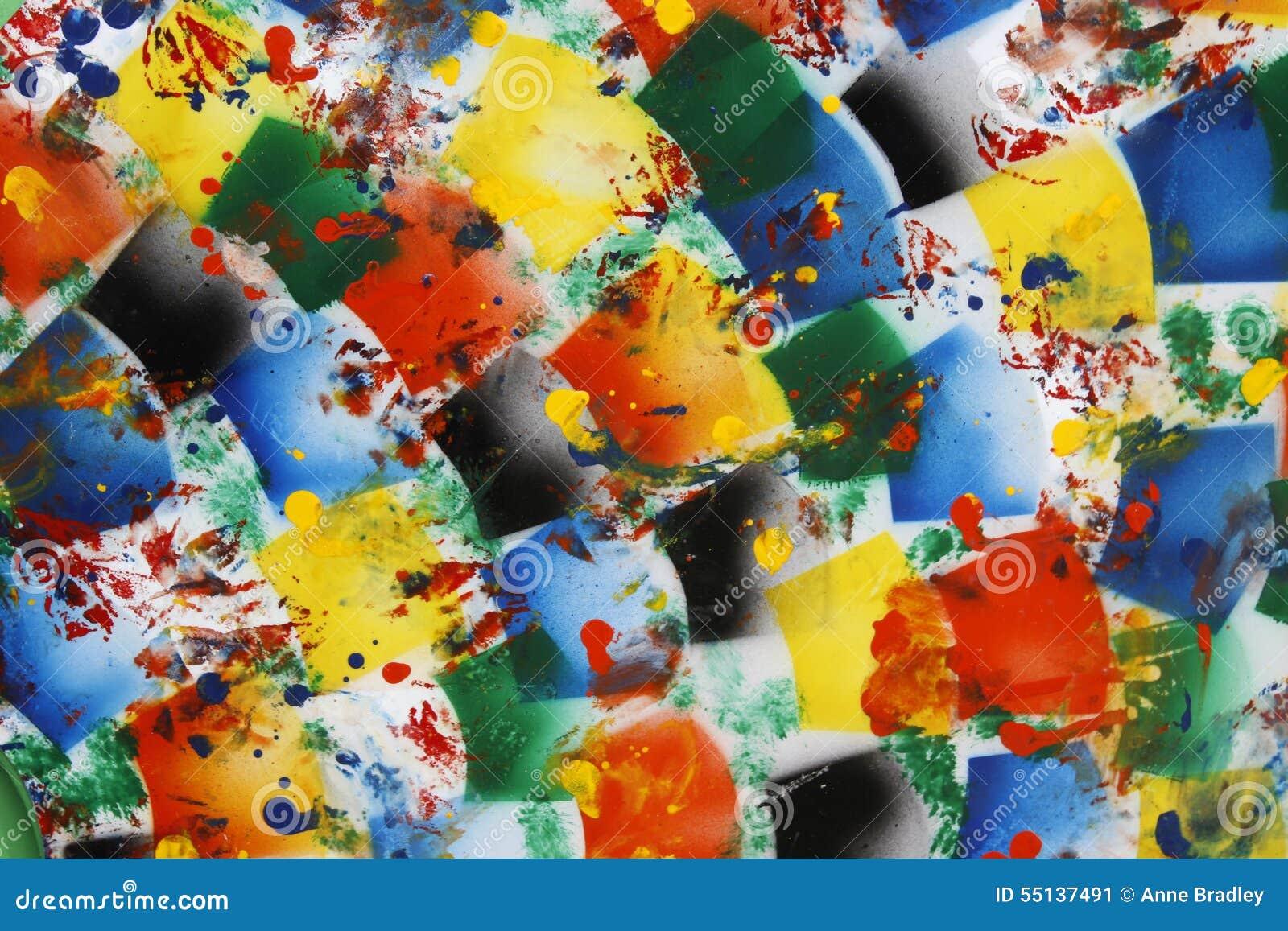 Helder gekleurde abstracte achtergrond