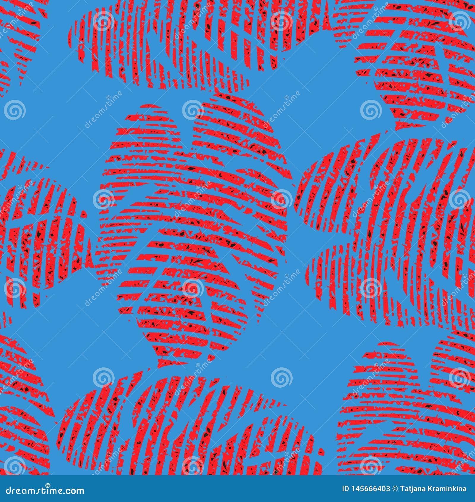Helder naadloos vectorpatroon met rode tropische bladeren