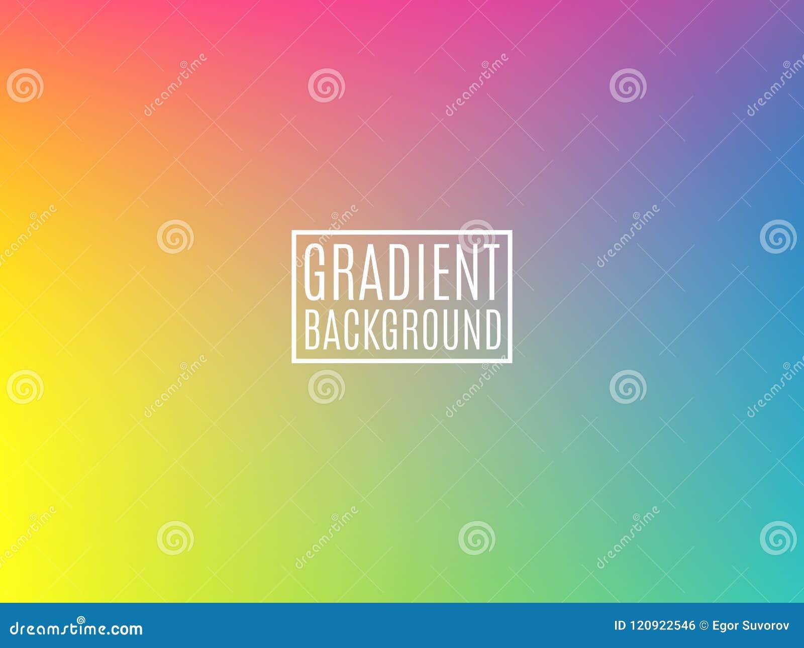 Heldere Kleurrijke achtergrond Minimaal ontwerpmalplaatje Zachte kleurenachtergrond voor vlieger, Web, brochure Moderne Gradiënt