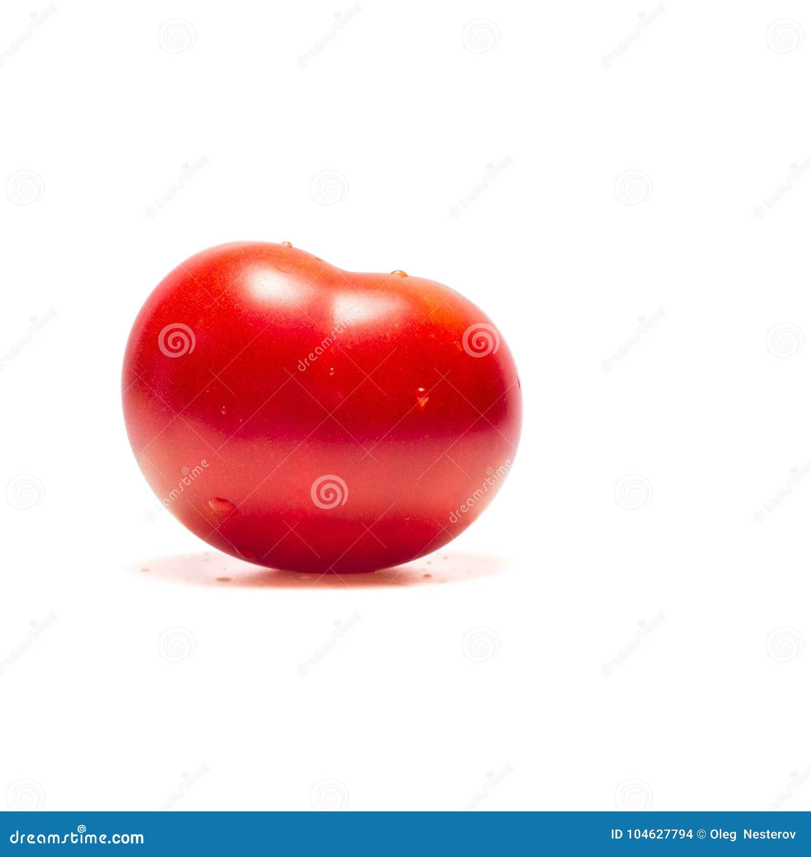 Download Heldere Tomaat Met Waterdalingen Stock Foto - Afbeelding bestaande uit gewassen, gezond: 104627794