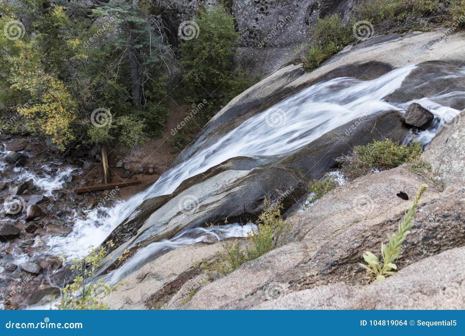 Helen Hunt Falls från sidan