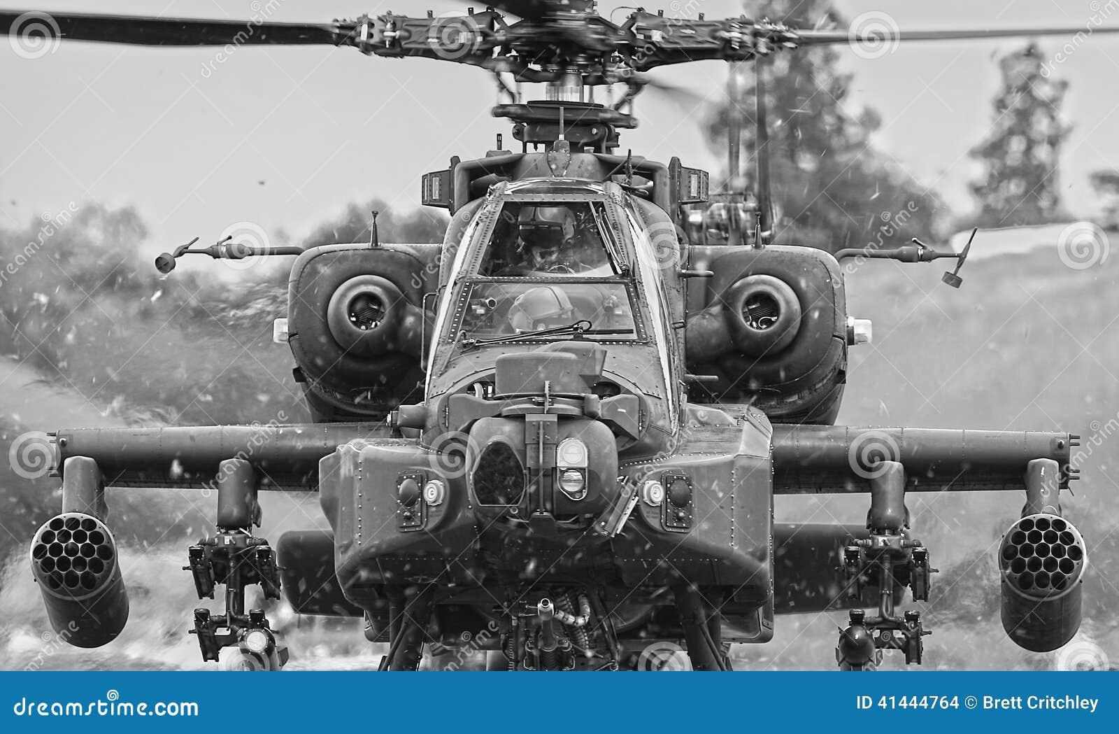 Helicóptero de Apache