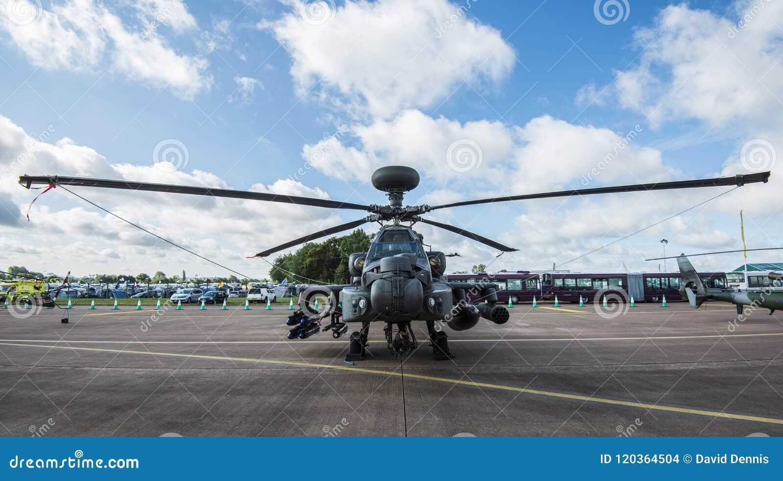 Helicóptero de ataque de Apache