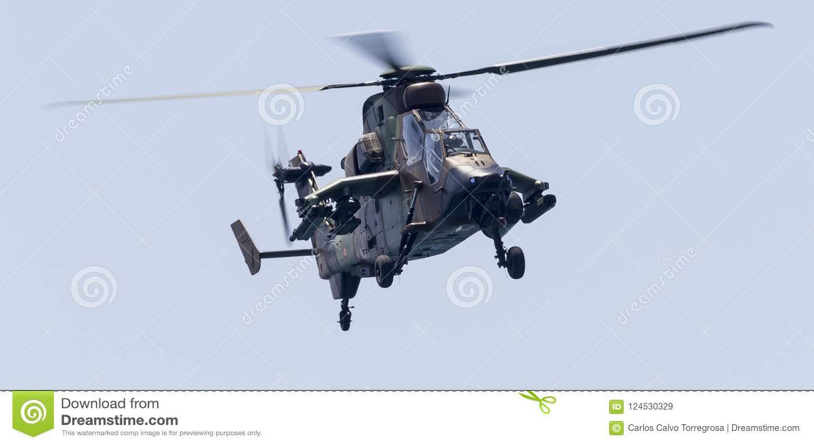 Helicóptero de ataque del tigre