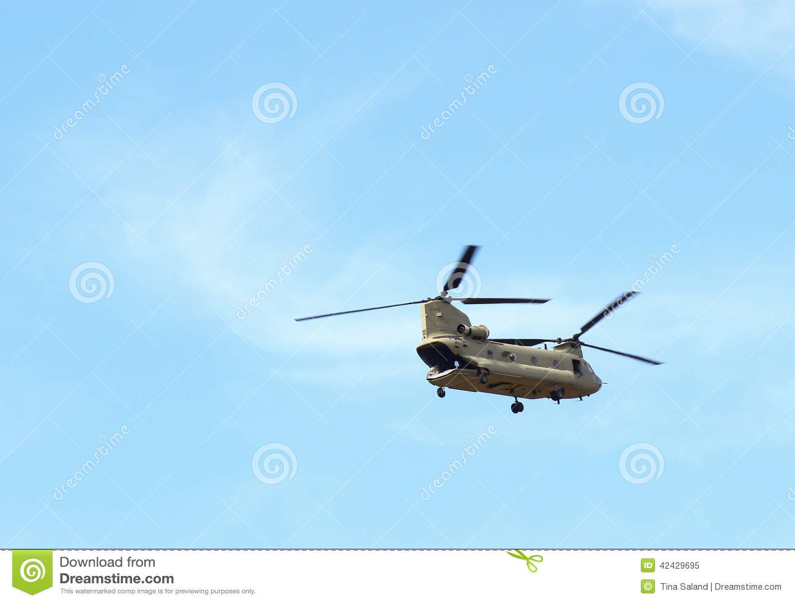 Helicóptero de Chinook