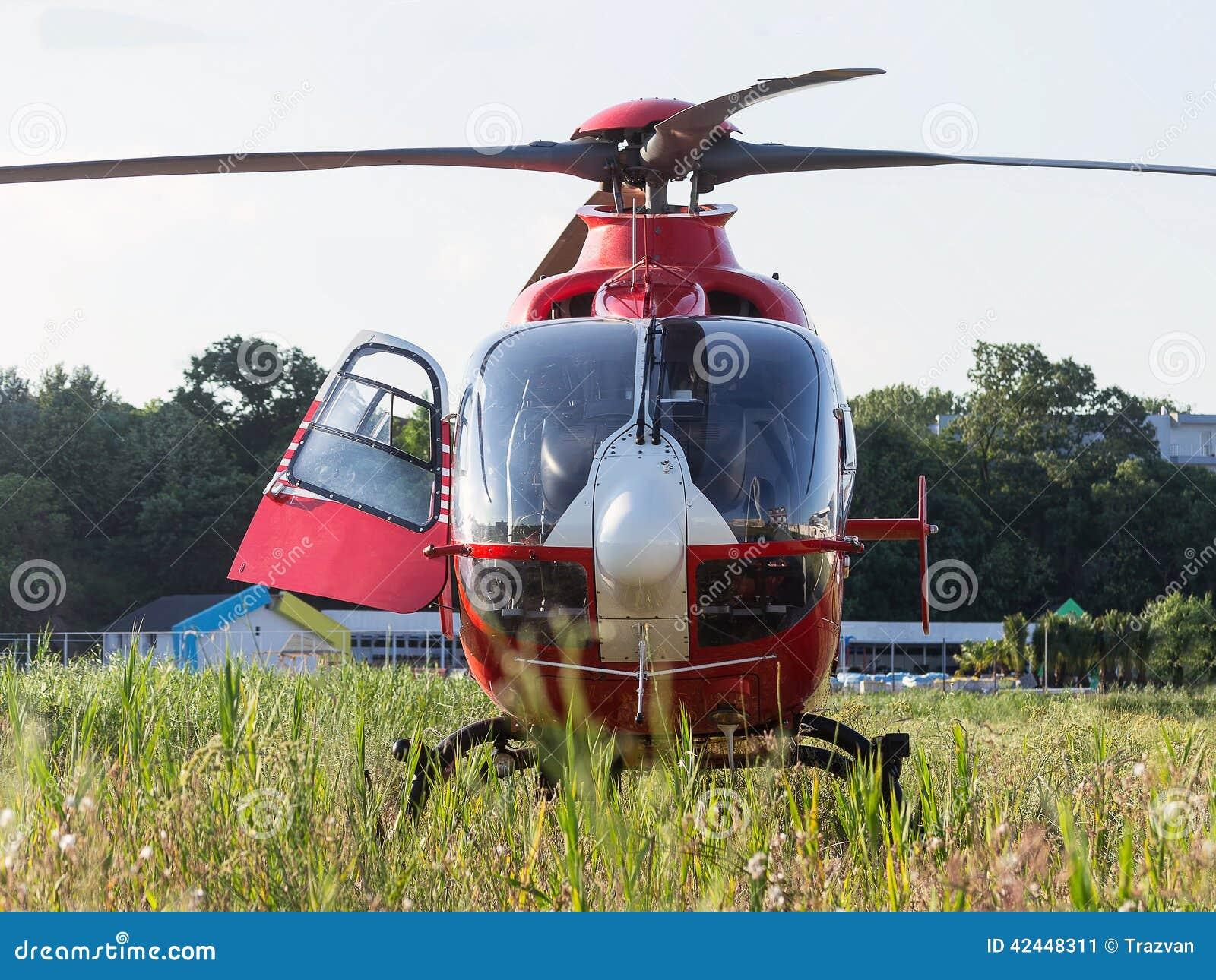 Helicóptero do salvamento