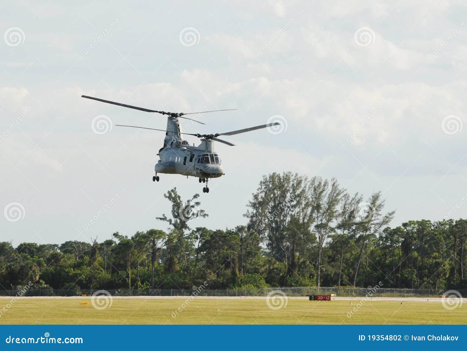 Helicóptero do transporte marinho dos E.U.