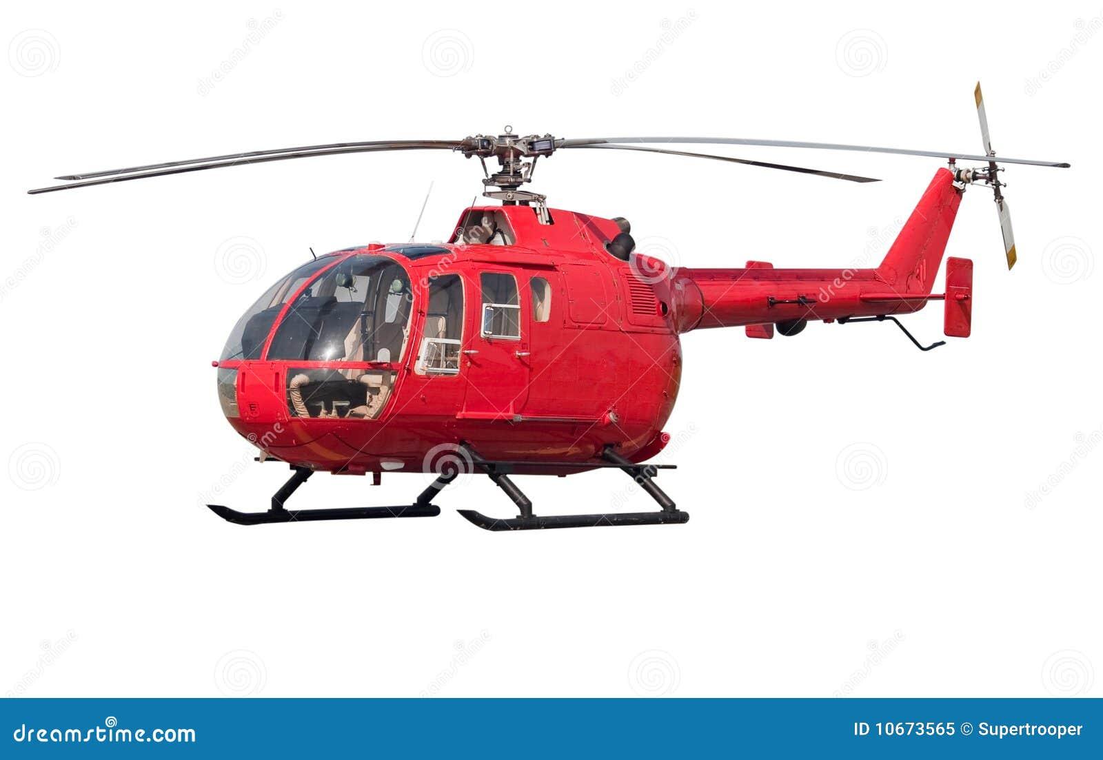 Helicóptero isolado