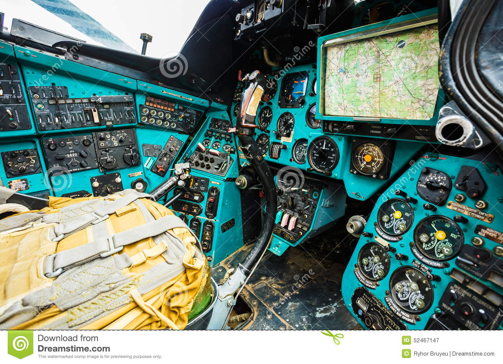 Helicóptero multiusos soviético ruso del transporte