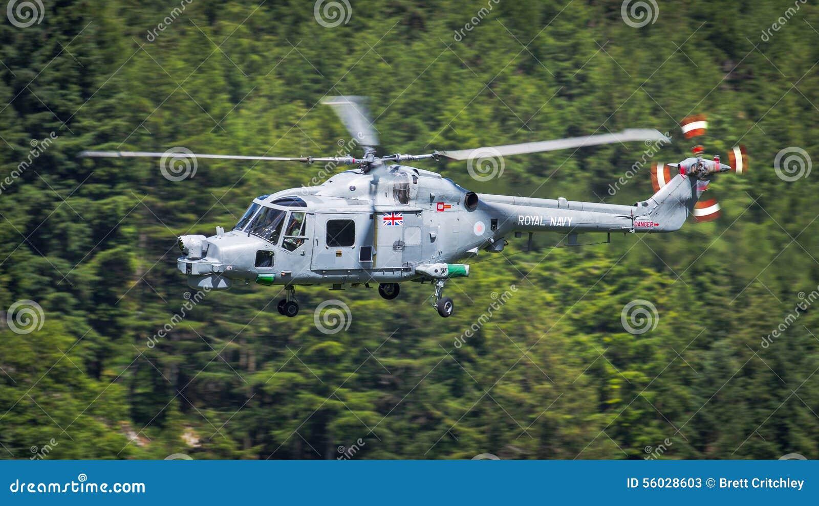 Helicóptero real do lince do exército