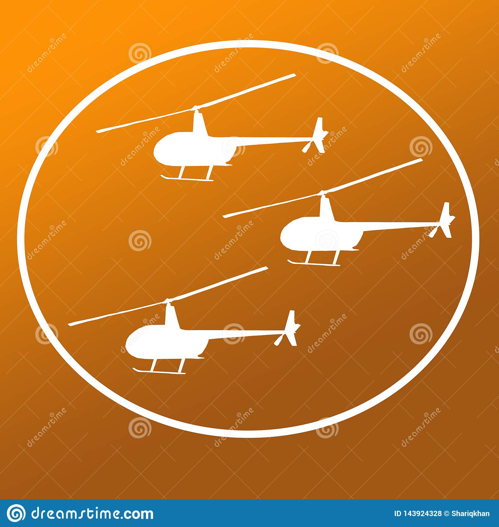 Helic?pteros Logo Banner Background Image dos interruptores inversores