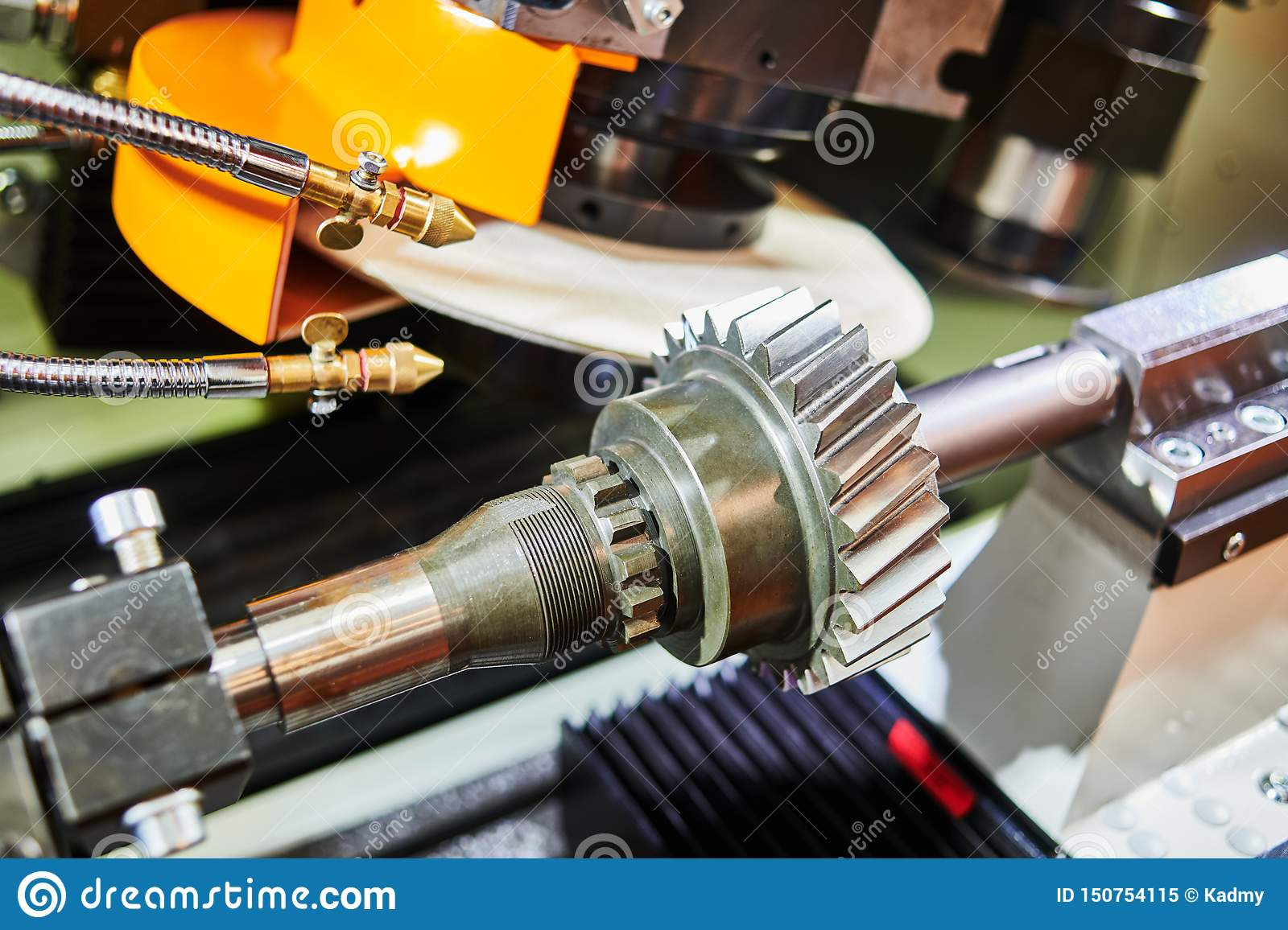 Helical Tooth Gear Manufacturing  Grinding Machine Stock