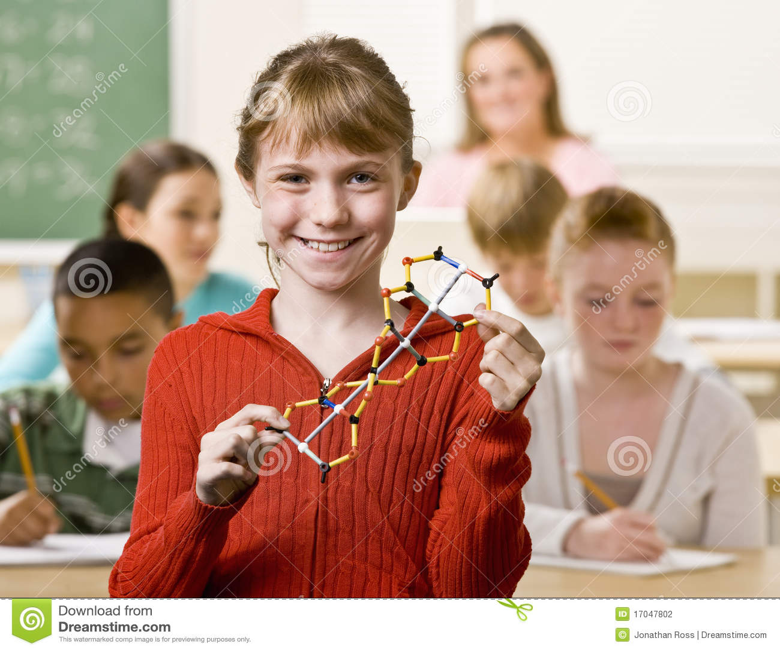 Helice de fixation d étudiant dans la salle de classe