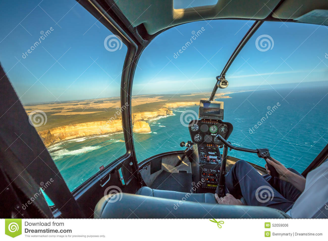 Helicopter Flight Over The Twelve Apostles Stock Photo  Image 52059006