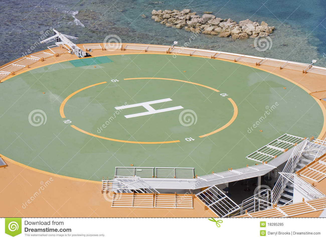 Royalty-Free Stock Photo. Download Helicopter Pad ...
