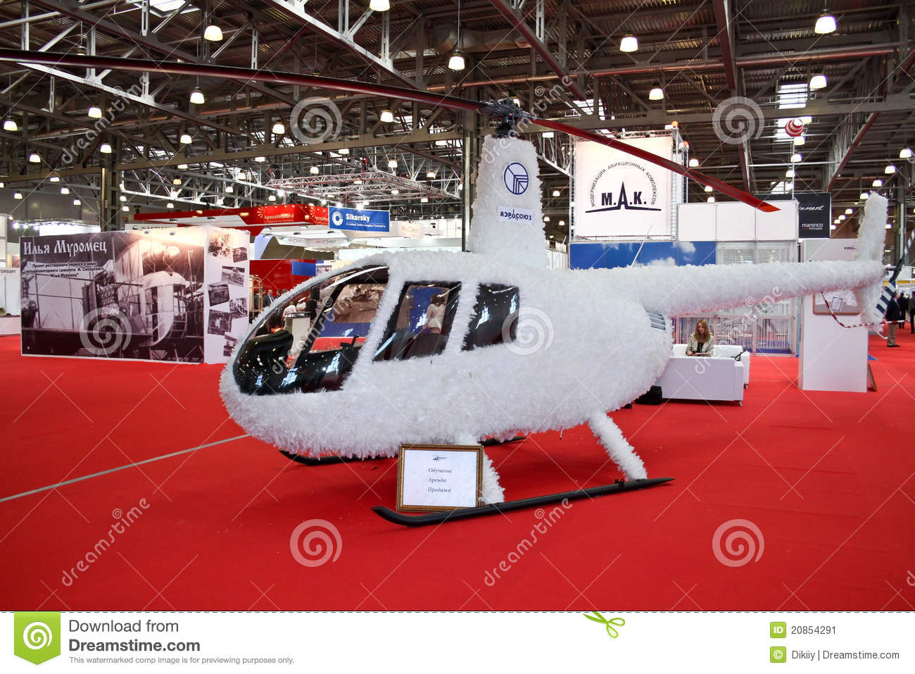 Helicopter Robinson R44 Raven II In Flight Editorial Stock Photo ...