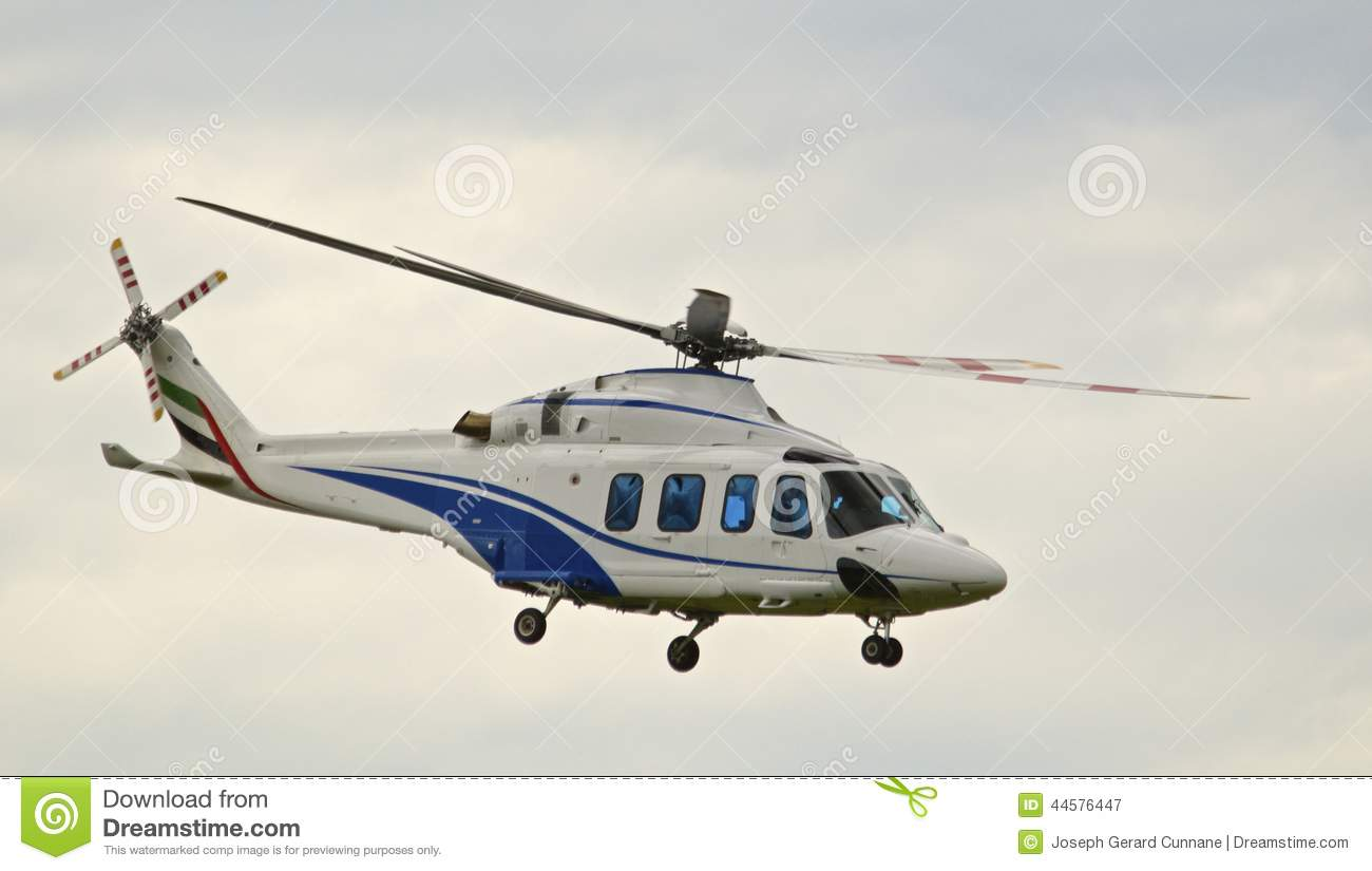 Elicottero Bianco : Helicopter stock photo image