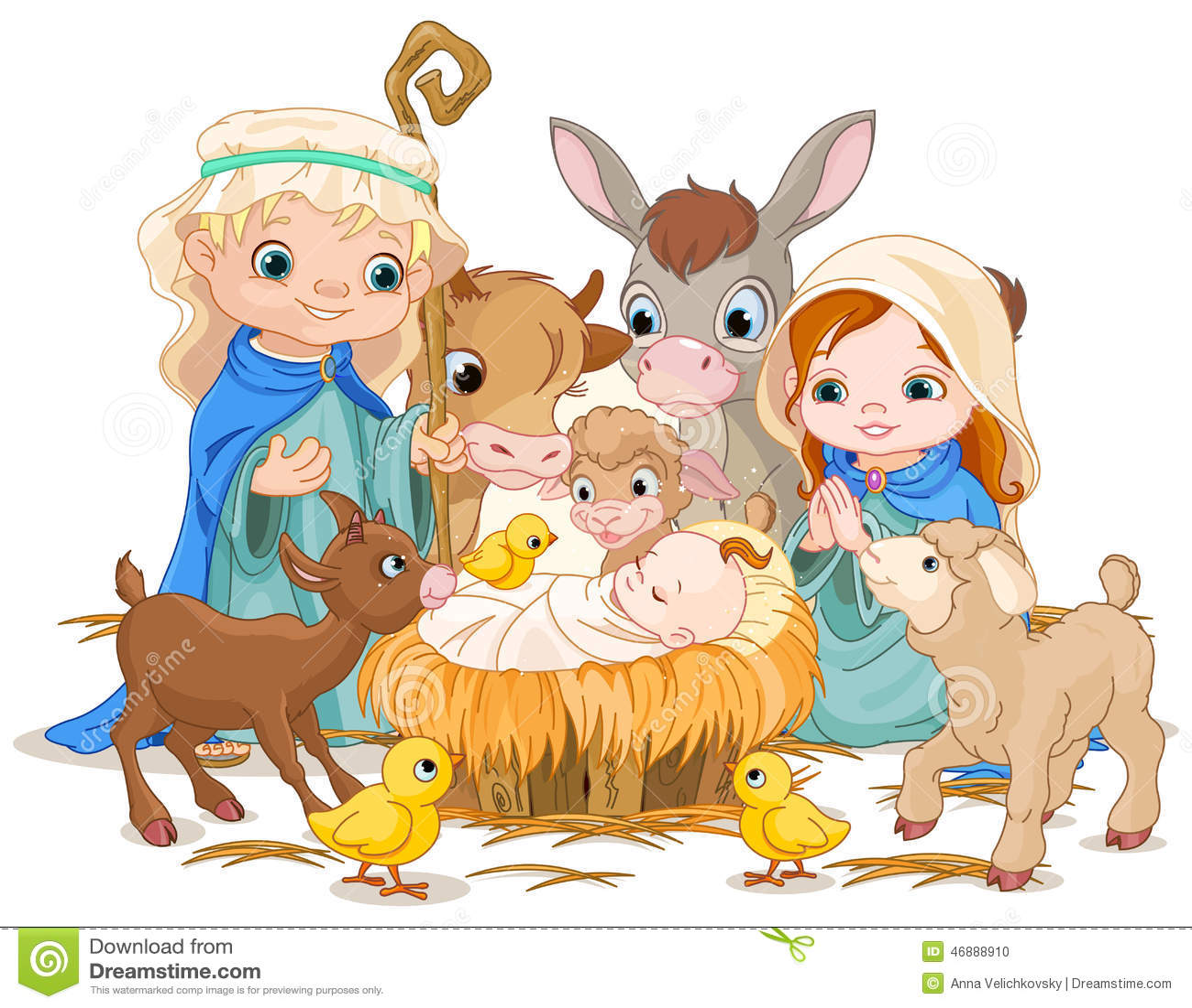 Helig familj på julnatten