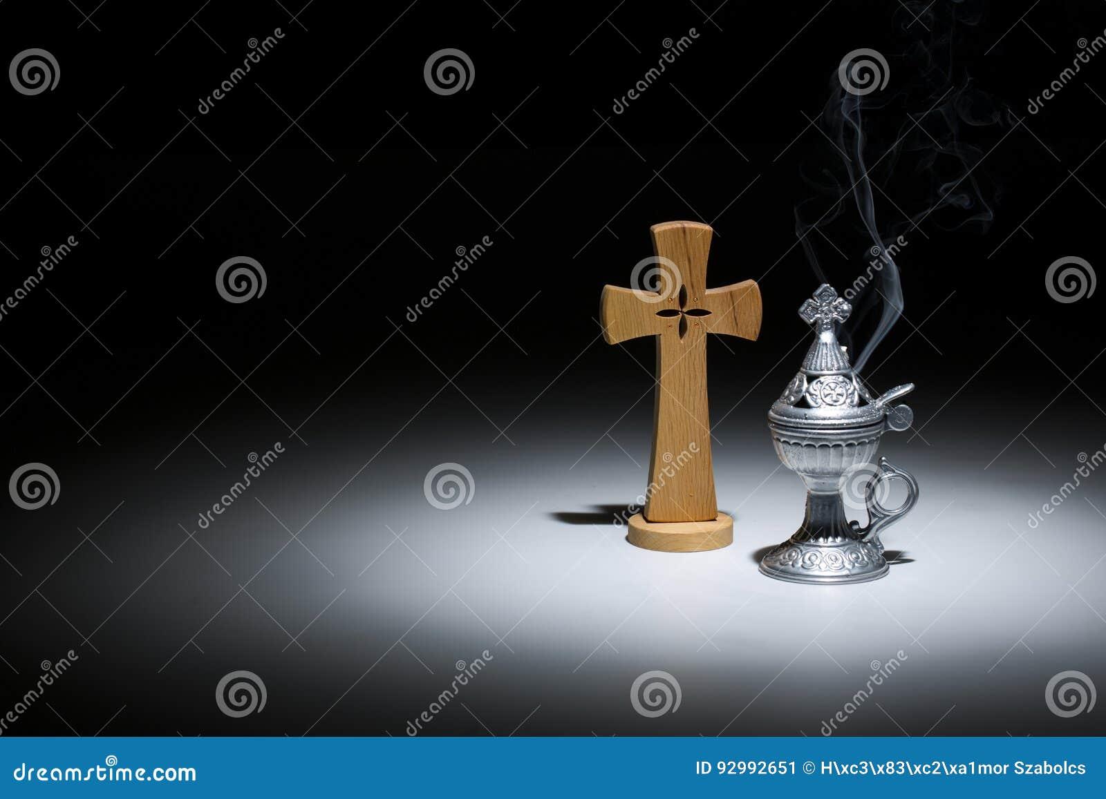 Helig rökelse-gasbrännare, religionsymbol
