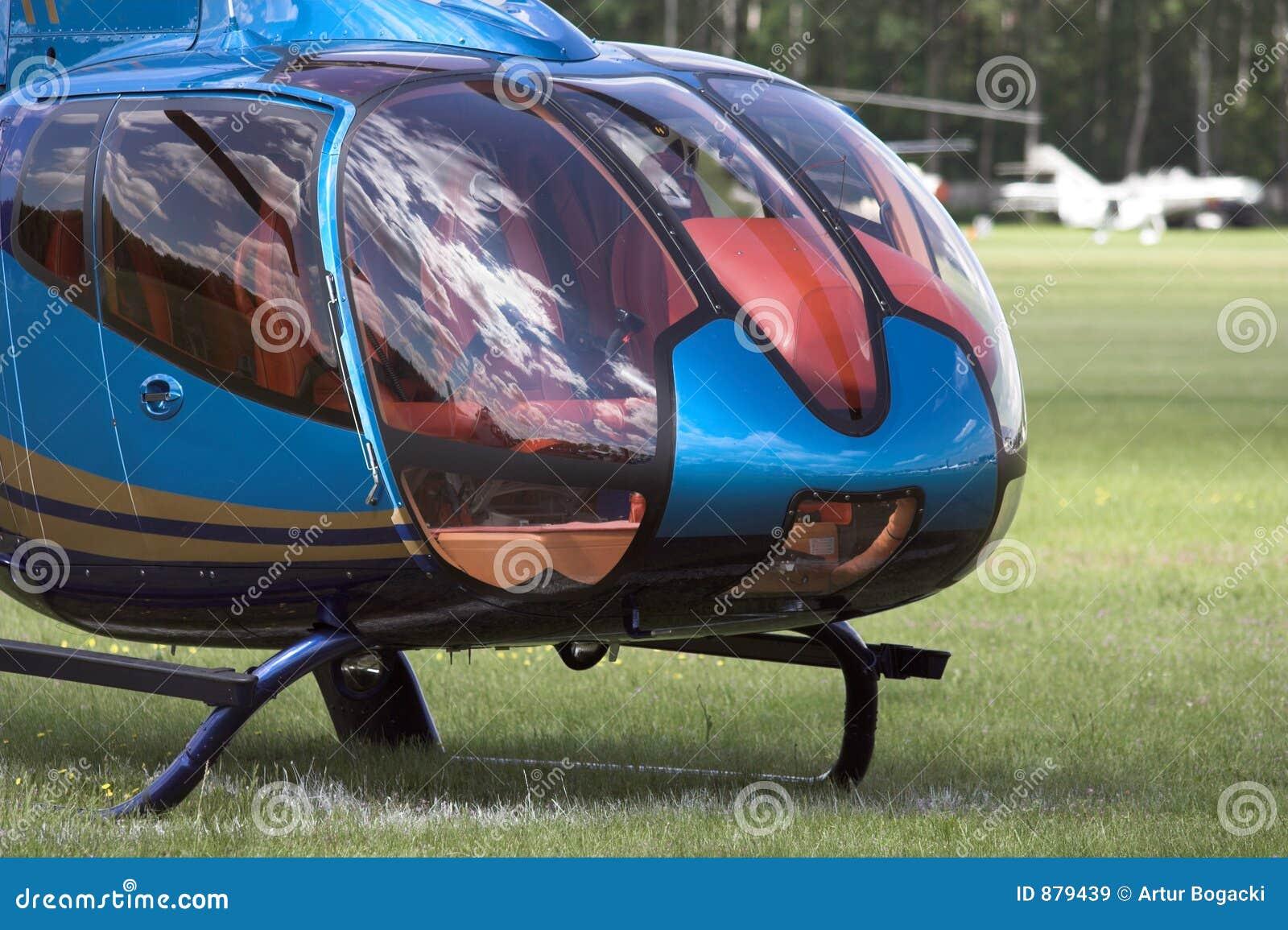 Helikopter cockpit nowocześnie