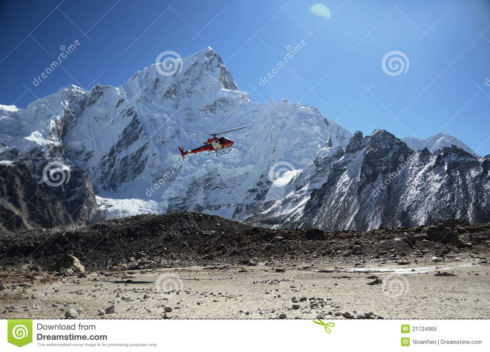Helikopterräddningsaktion
