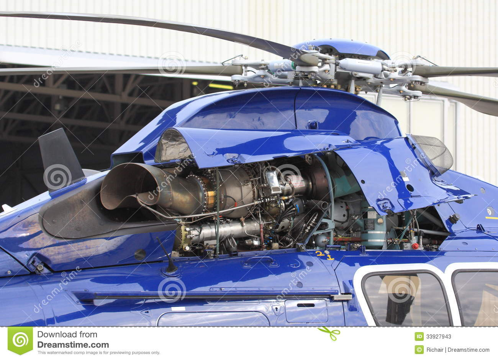 Helikopterturbinmotor
