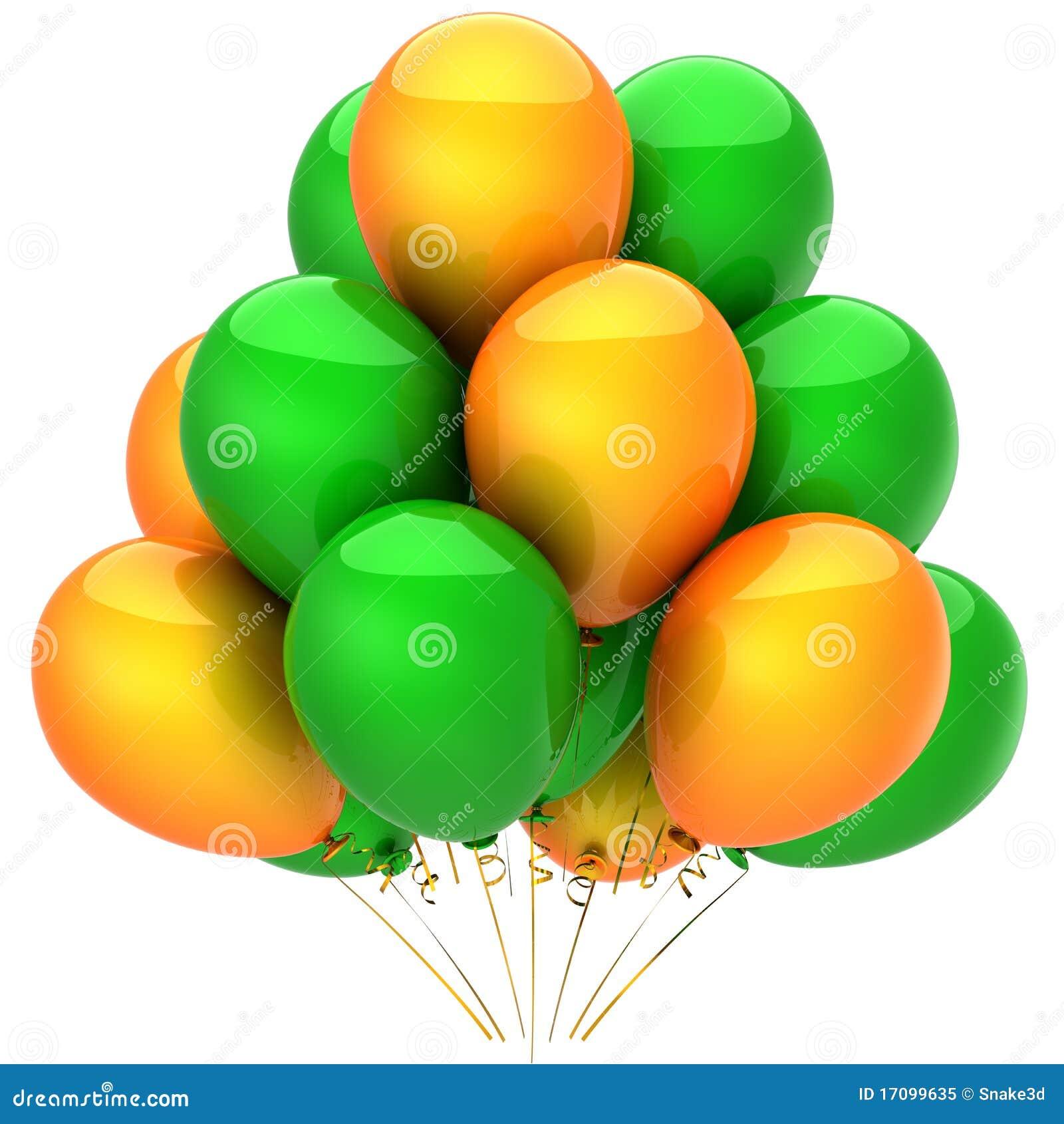 Heliumballone. Partydekoration (Mieten)