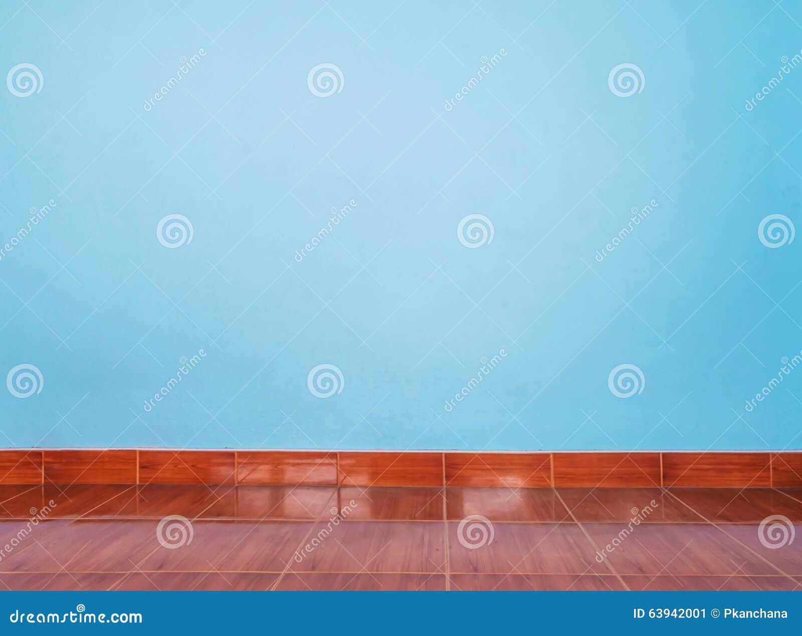 Hellblaue Wand Und Bodenfliesen Stockbild Bild Von Hintergrund