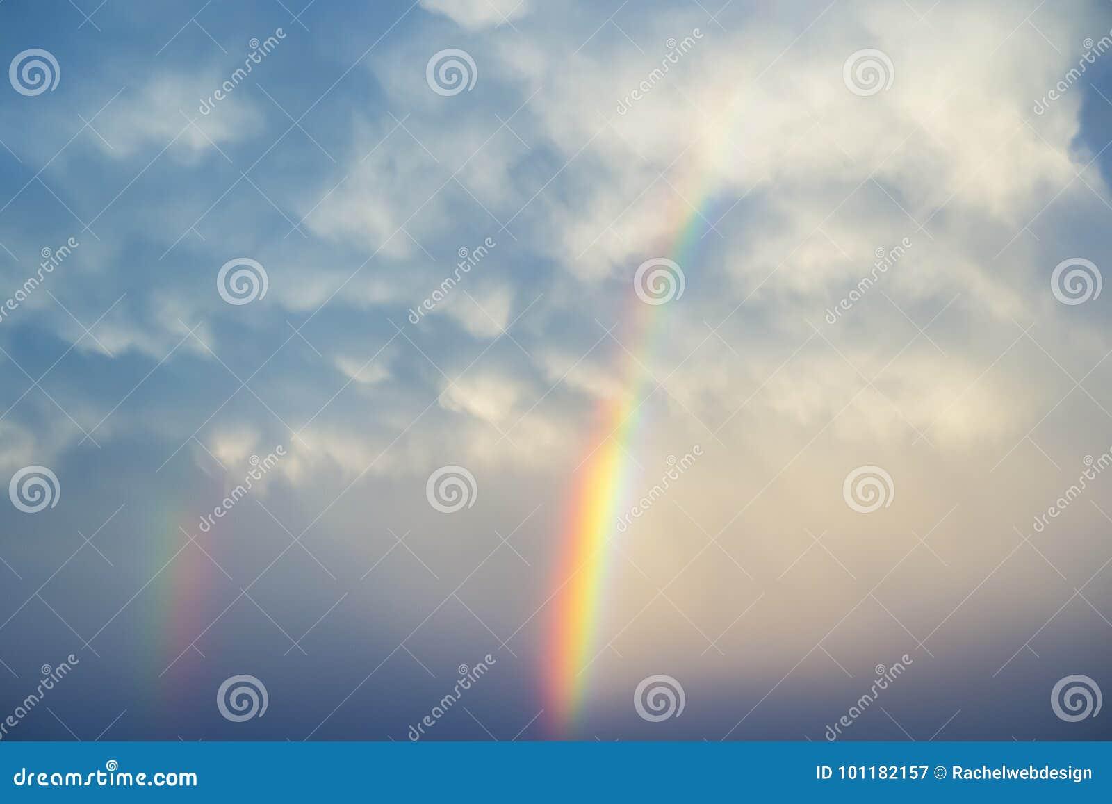 Regenbogen von oben