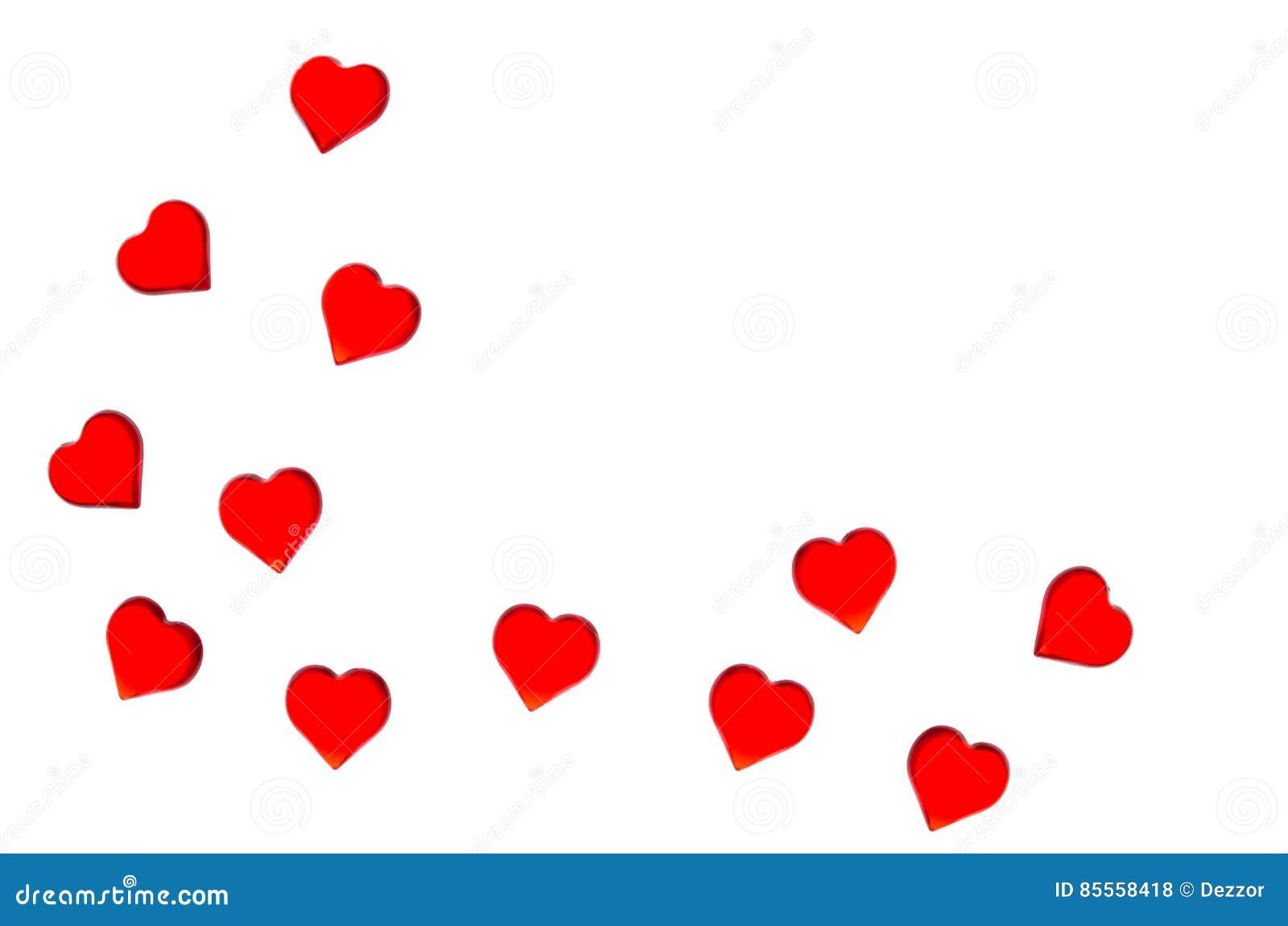 Helle rote Herzen auf einem gestreiften Hintergrund Zwecks Valentinsgruß ` s Tag verwenden, Hochzeiten, internationaler Frauen `