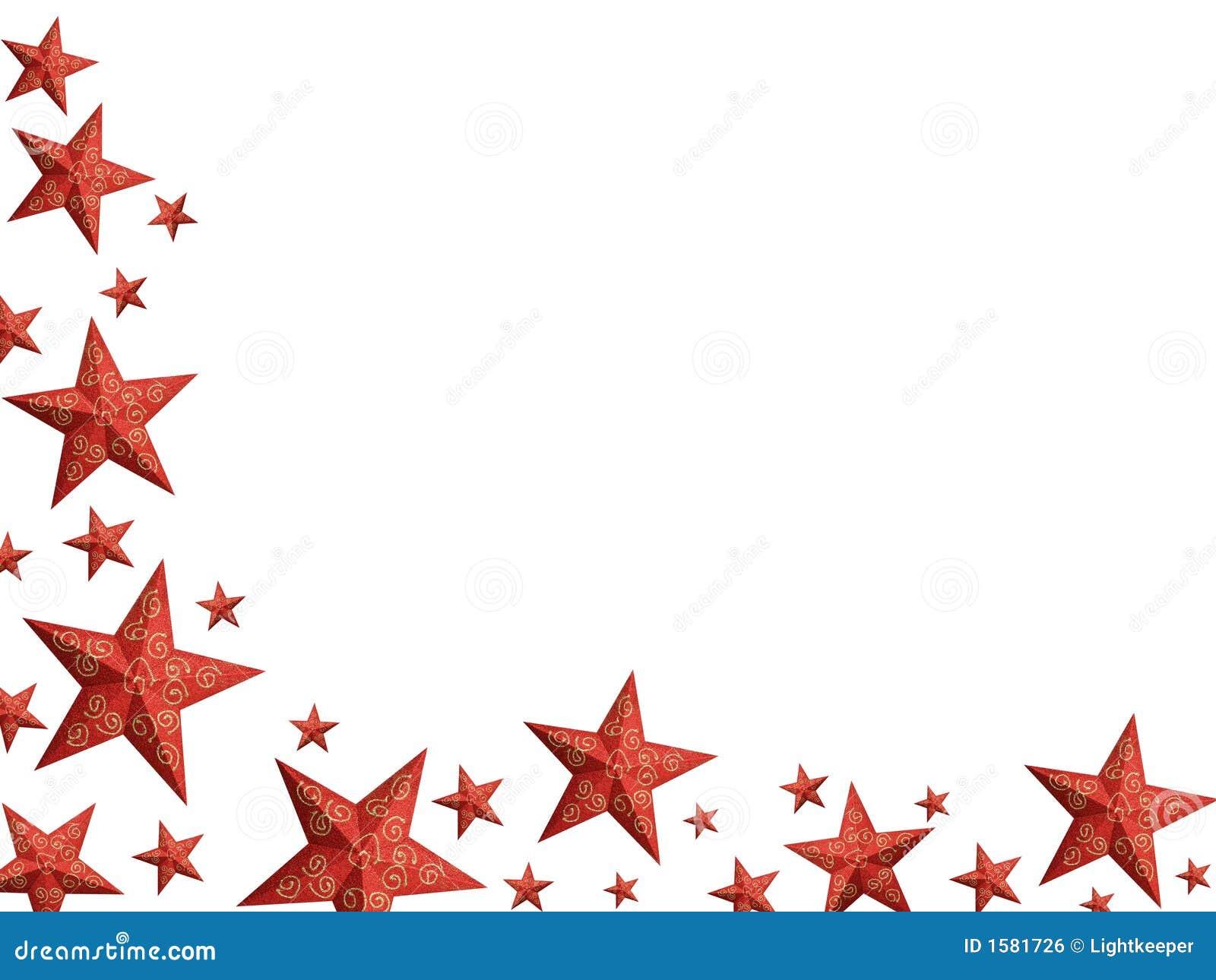 Helle rote weihnachtssterne getrennt stock abbildung - Rote weihnachtsdeko ...