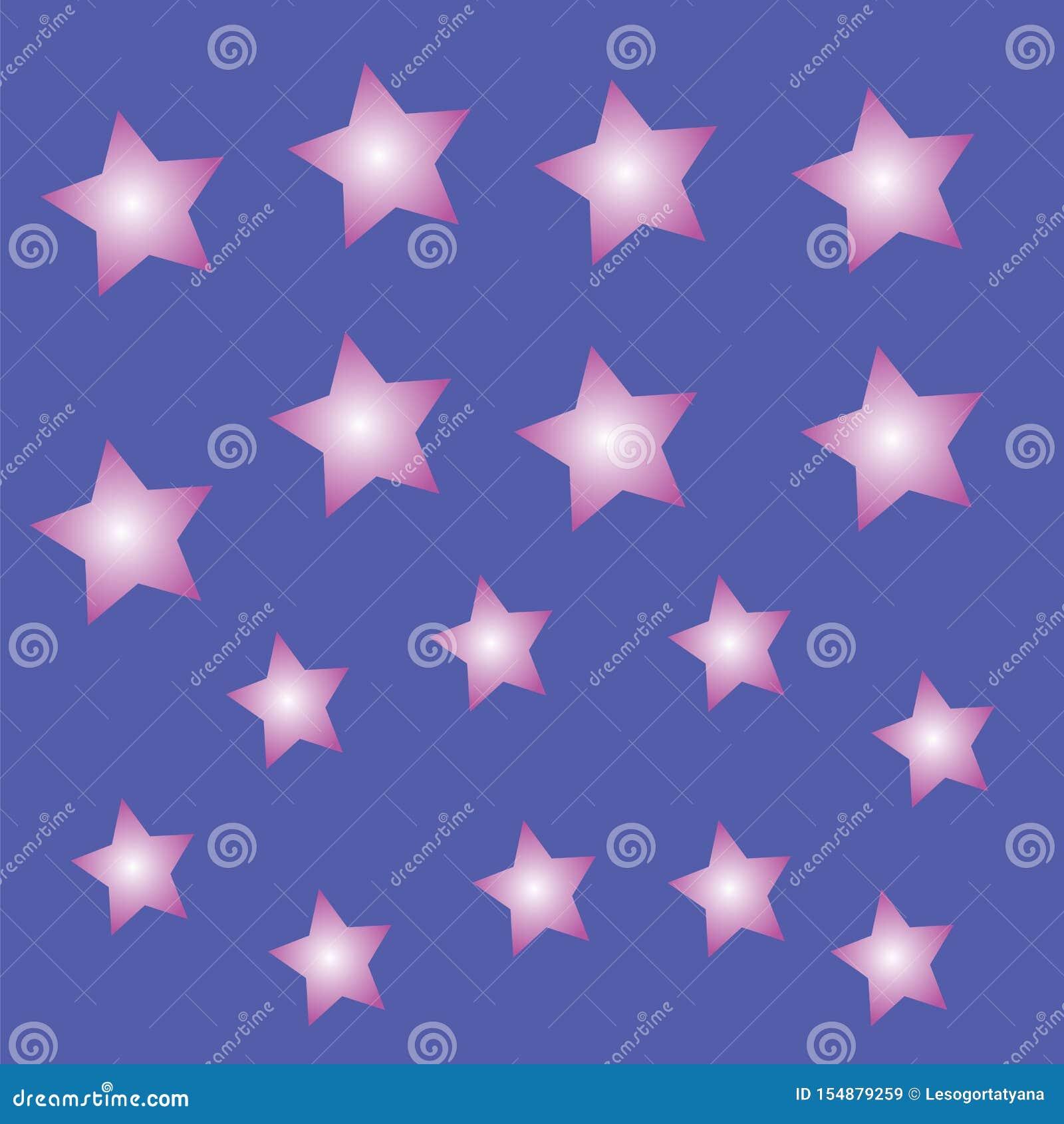 Helle Sterne auf einem blauen Hintergrund