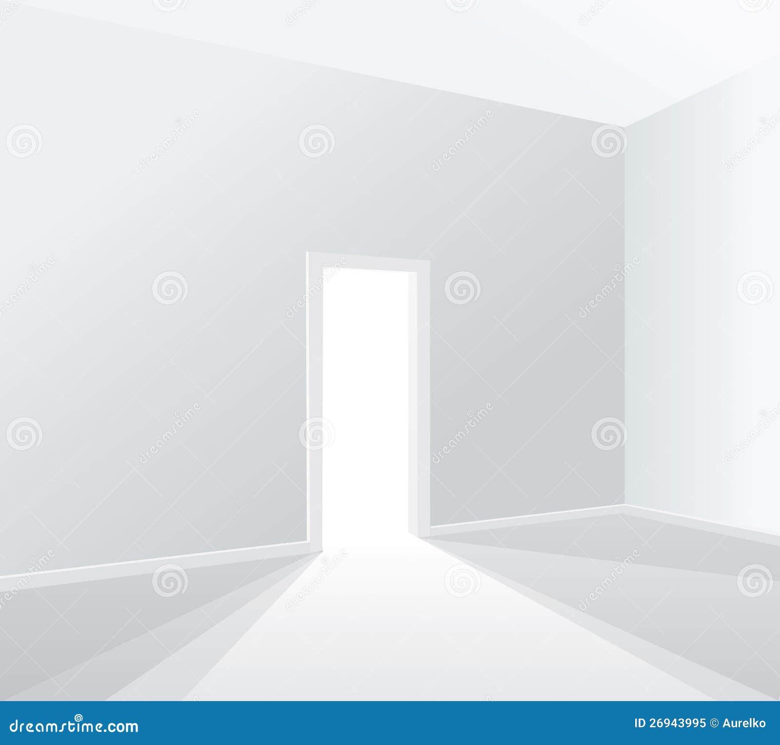 Heller Weißer Raum Stock Abbildung Illustration Von Feld 26943995