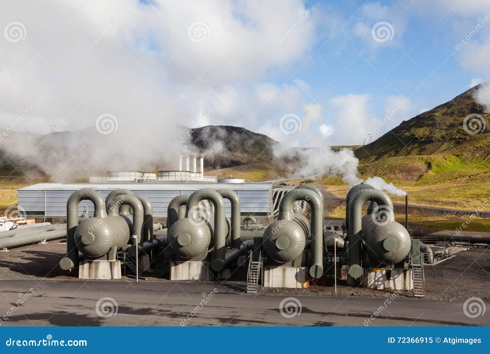 Hellisheidi地热能厂