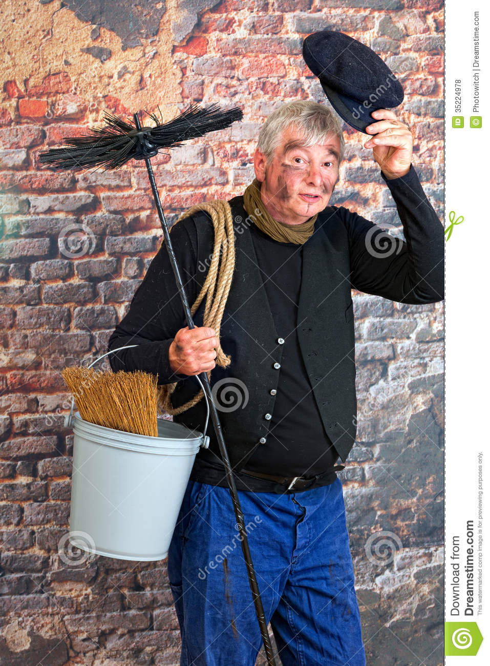 Hello Chimney Sweep Royalty Free Stock Photos Image