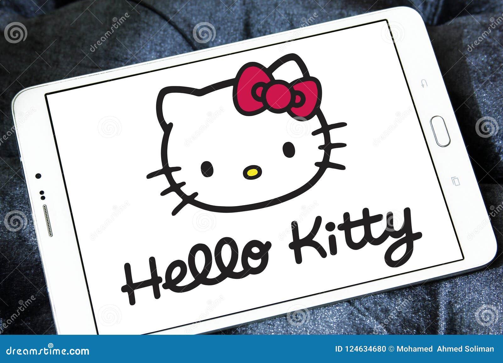 Hello Kitty Logo Editorial Image Image Of Symbol Illustrative