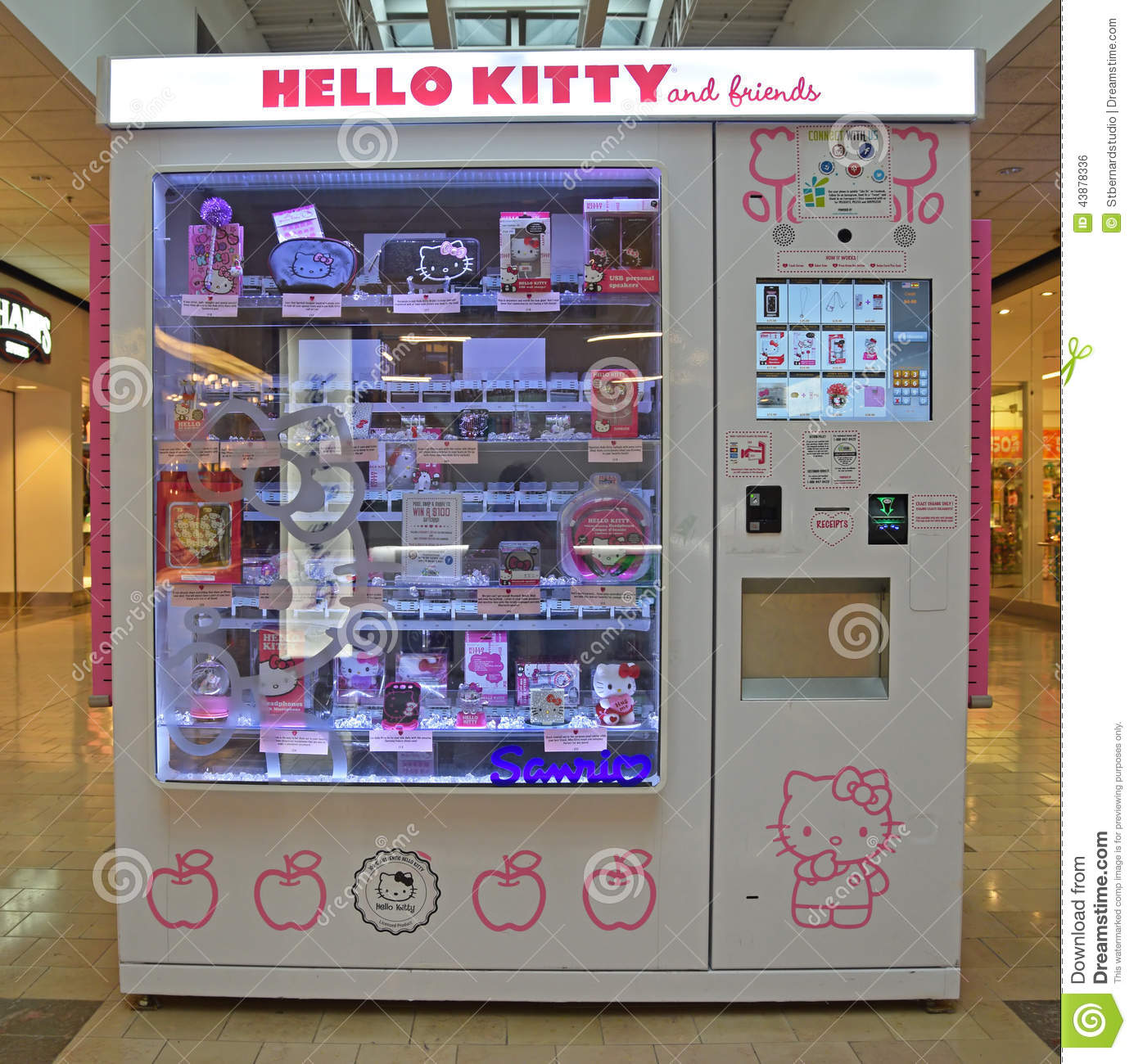 phone selling machine in mall